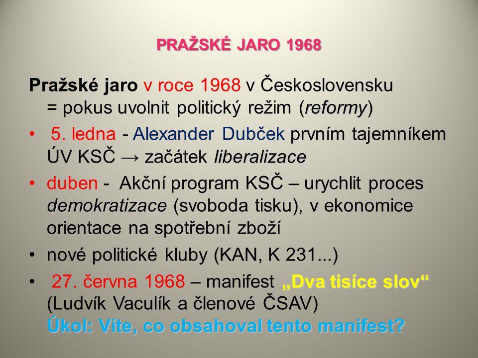 nové politické kluby (KAN, K 231...)