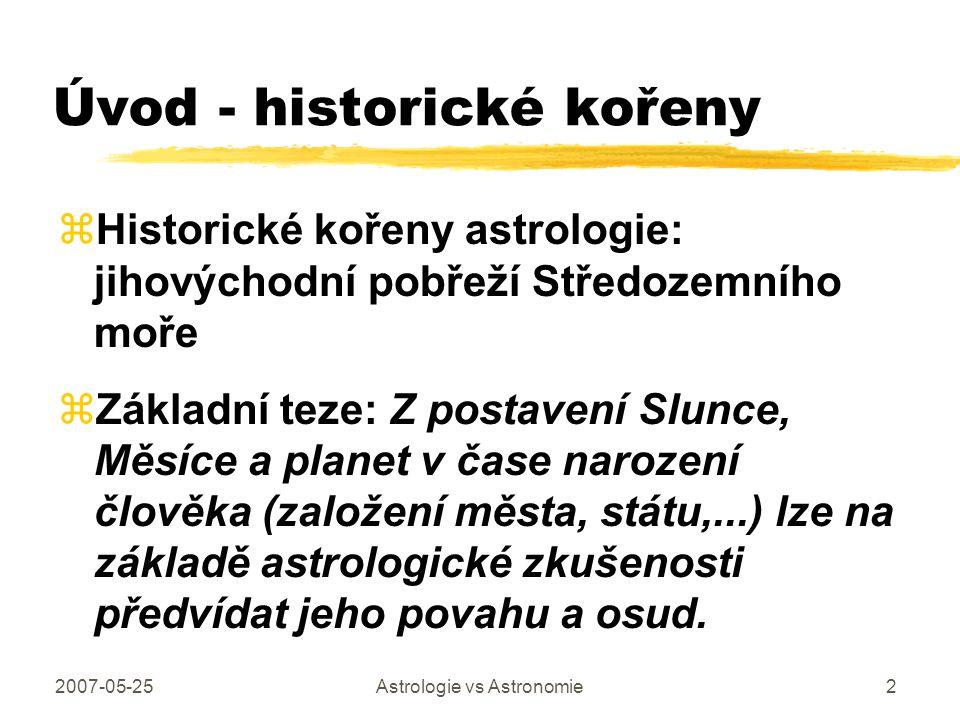 Úvod - historické kořeny