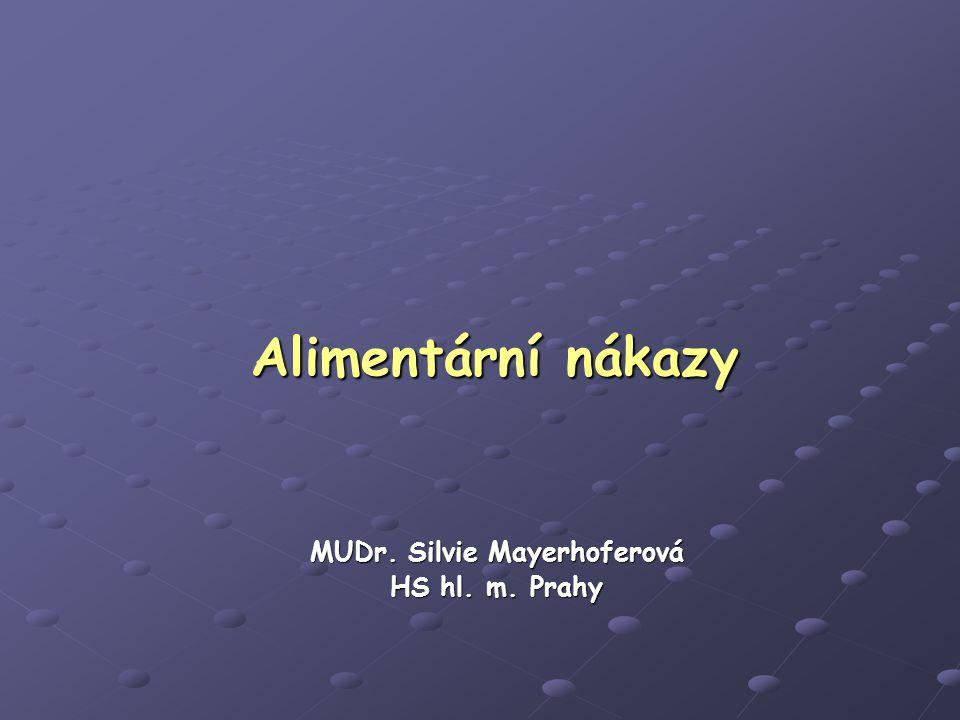 MUDr. Silvie Mayerhoferová HS hl. m. Prahy