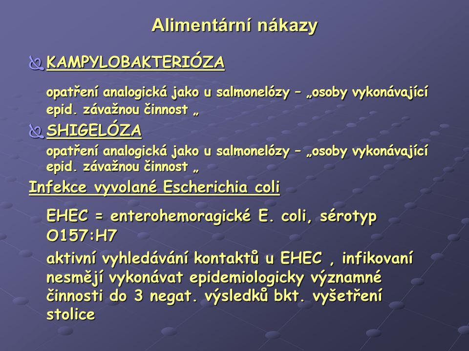 EHEC = enterohemoragické E. coli, sérotyp O157:H7