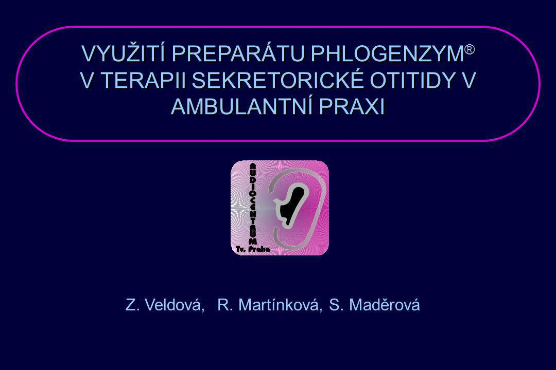 Z. Veldová, R. Martínková, S. Maděrová