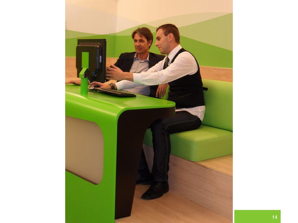 Na našich pobočkách například zákazník vždy vidí to, co se s jeho účtem děje.