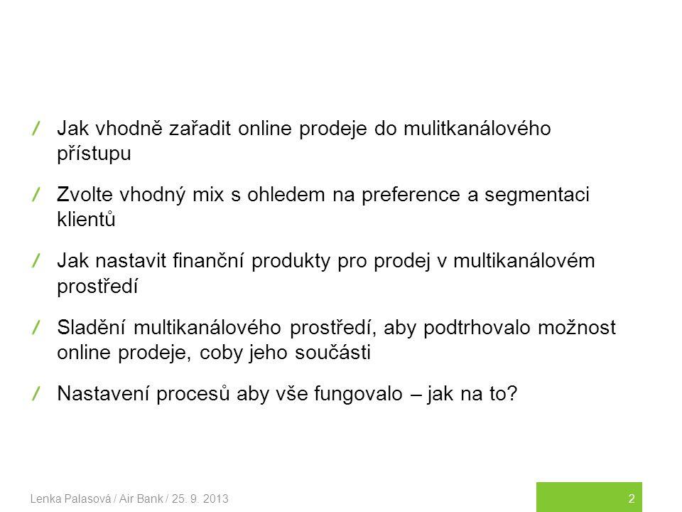 Jak vhodně zařadit online prodeje do mulitkanálového přístupu