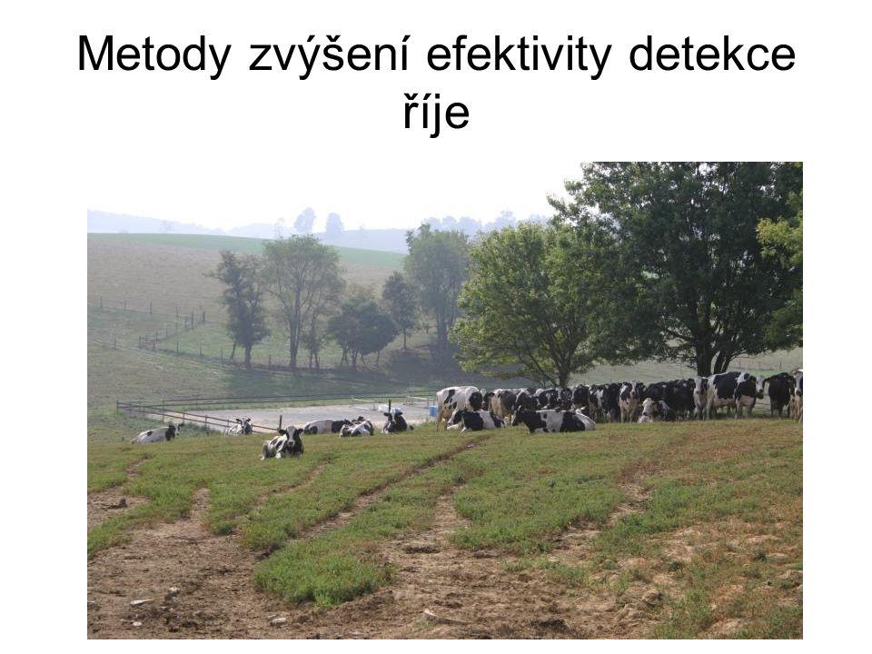Metody zvýšení efektivity detekce říje