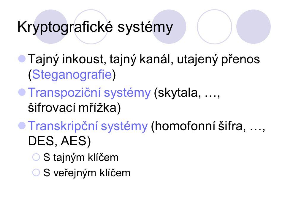 Kryptografické systémy