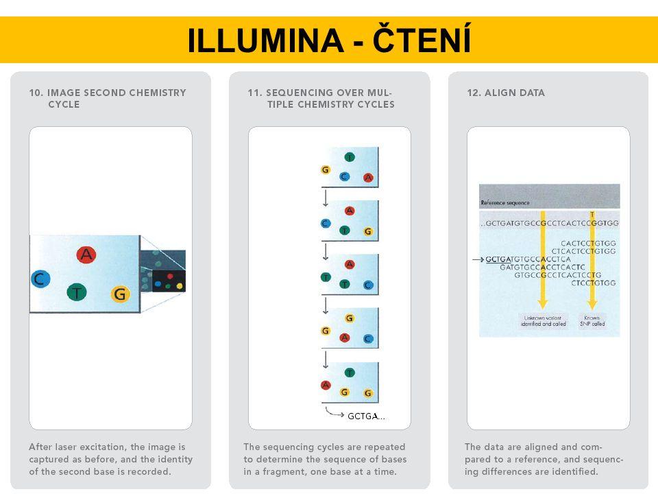 Illumina - Čtení