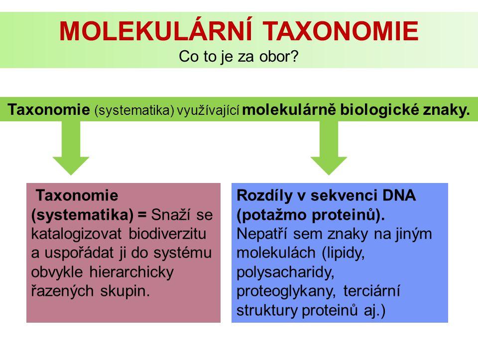 Molekulární taxonomie