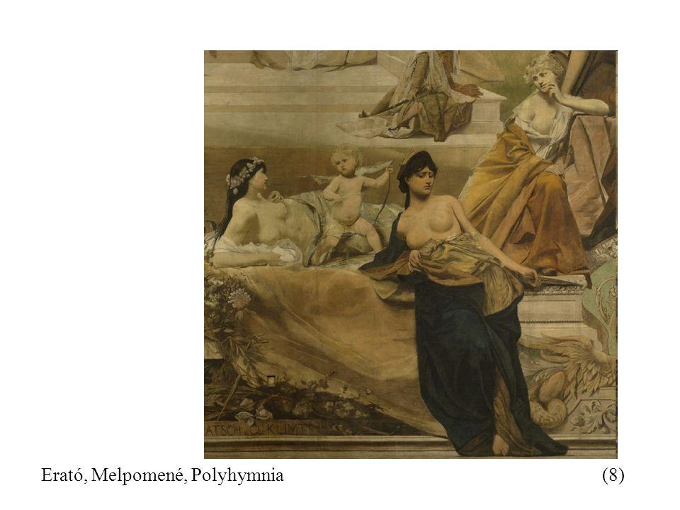 Erató, Melpomené, Polyhymnia