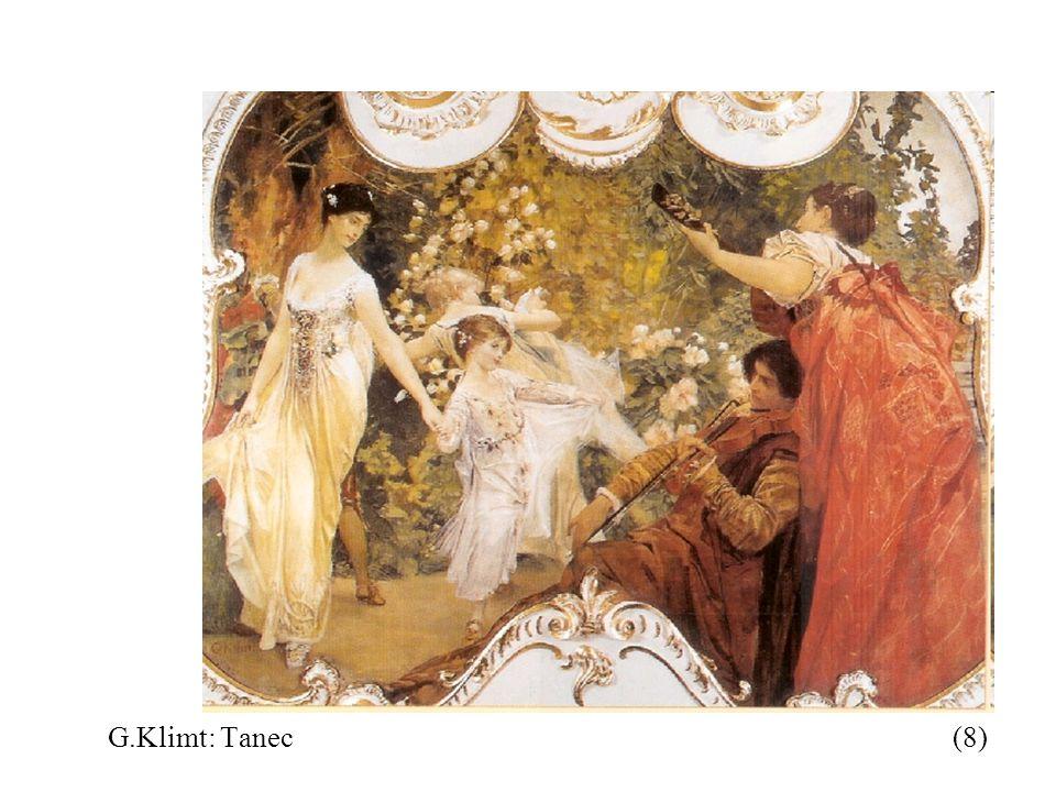 G.Klimt: Tanec (8)