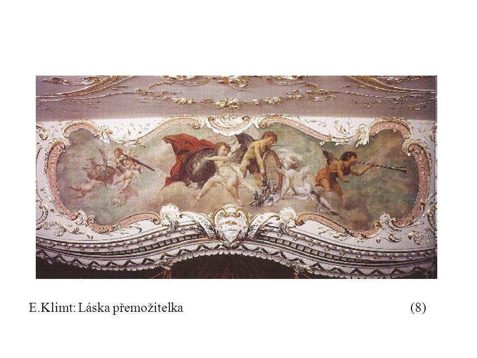 E.Klimt: Láska přemožitelka (8)