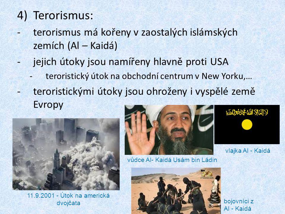 11.9.2001 - Útok na americká dvojčata
