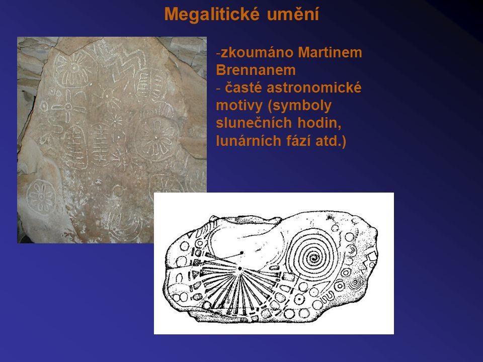 Megalitické umění zkoumáno Martinem Brennanem