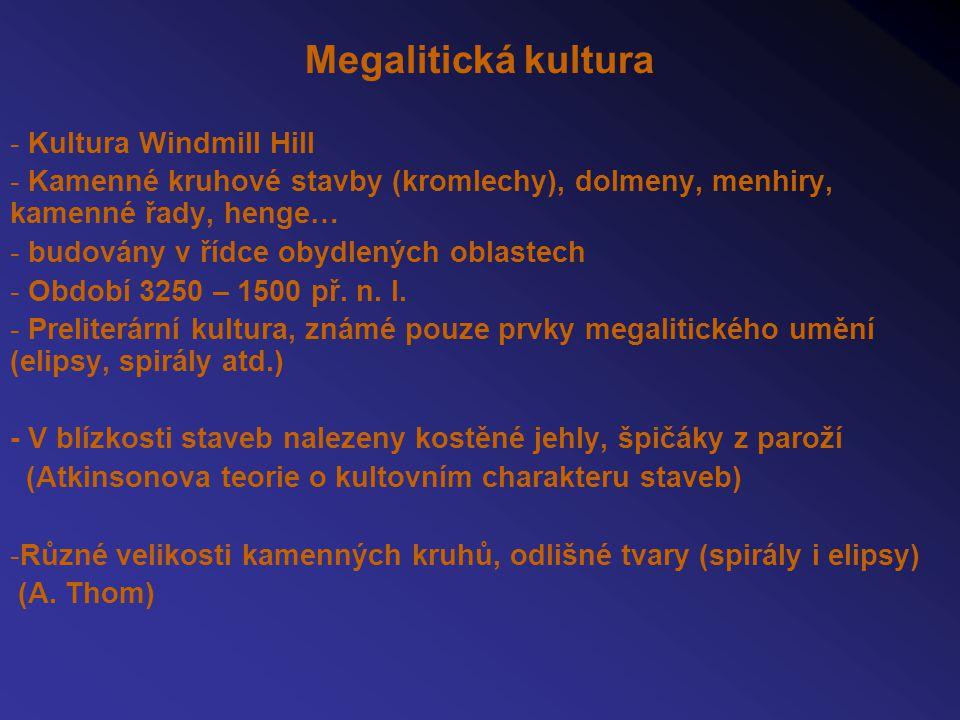 Megalitická kultura Kultura Windmill Hill
