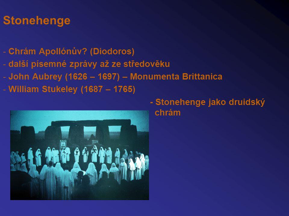 Stonehenge - Chrám Apollónův (Diodoros)