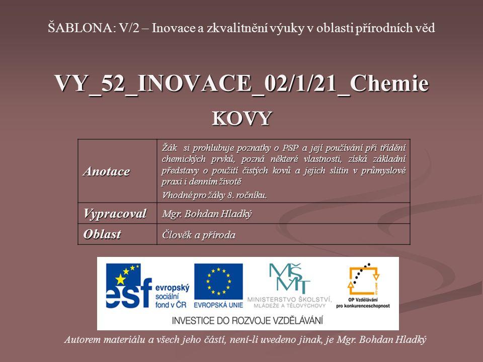 VY_52_INOVACE_02/1/21_Chemie