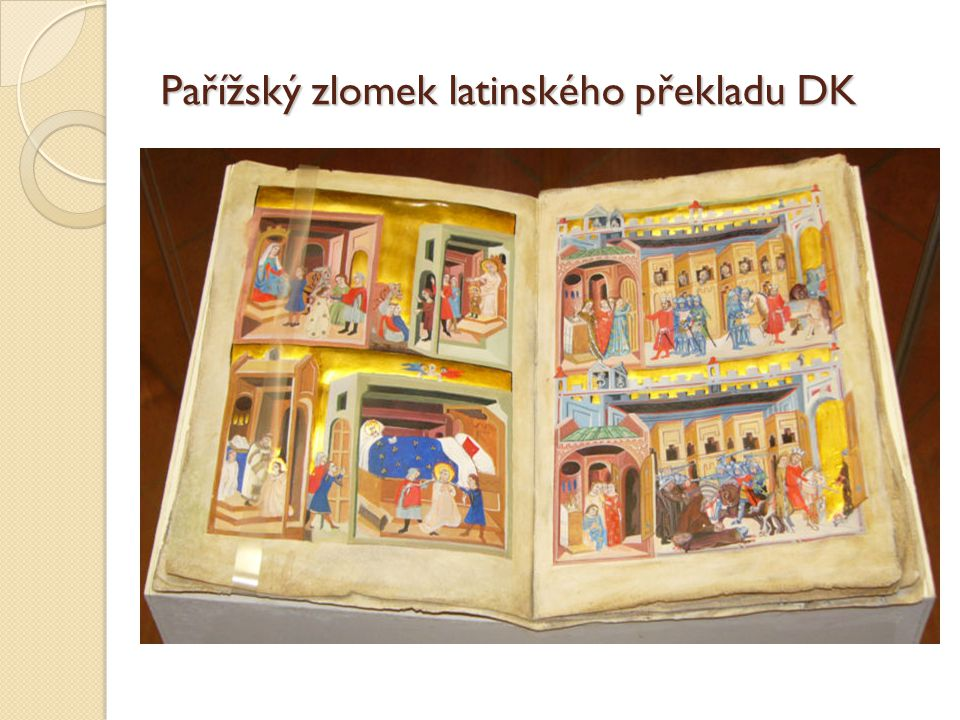 Pařížský zlomek latinského překladu DK