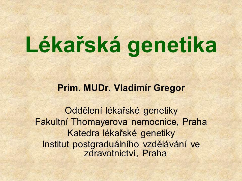 Prim. MUDr. Vladimír Gregor