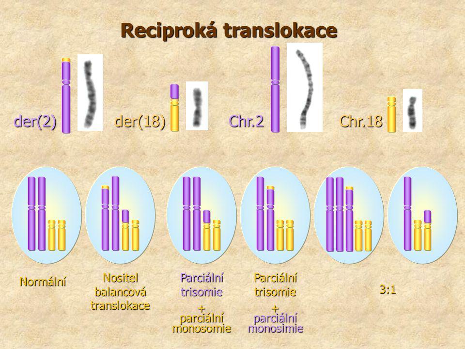 Reciproká translokace