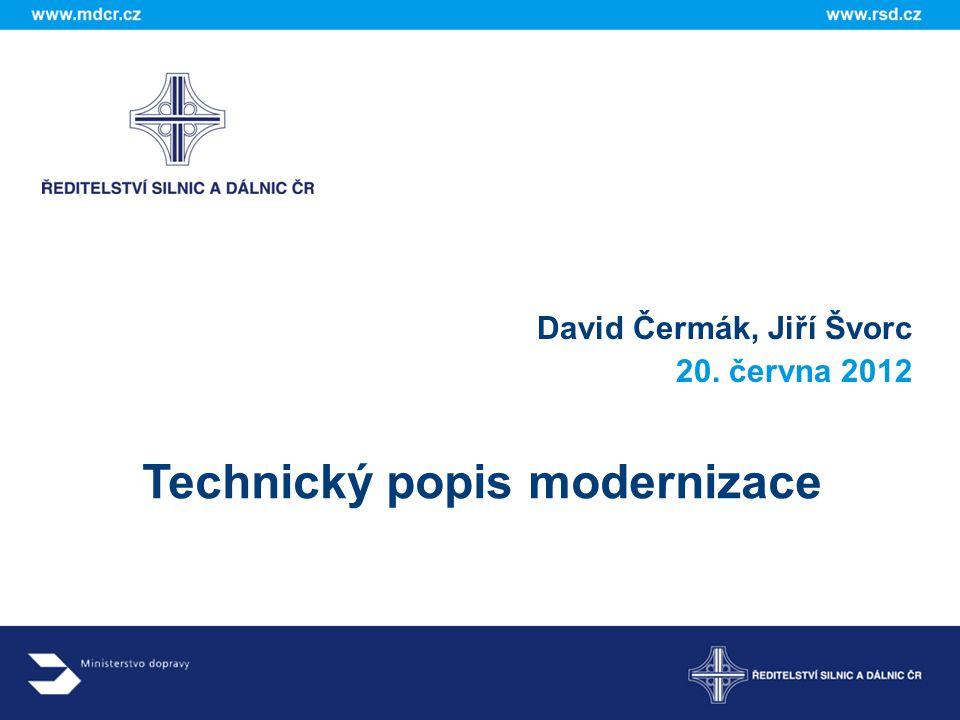 Technický popis modernizace