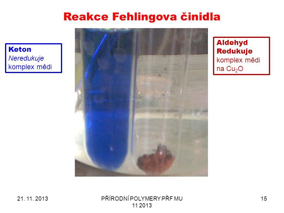 Reakce Fehlingova činidla