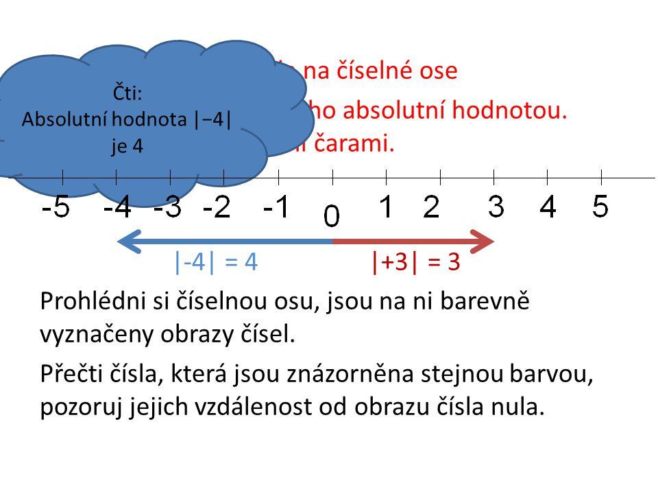 Absolutní hodnota |−4| je 4
