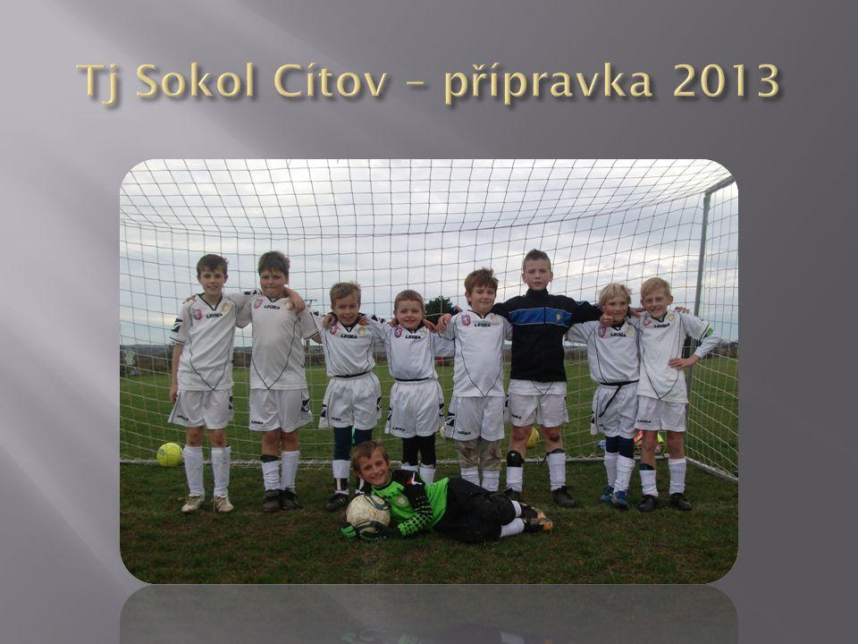 Tj Sokol Cítov – přípravka 2013