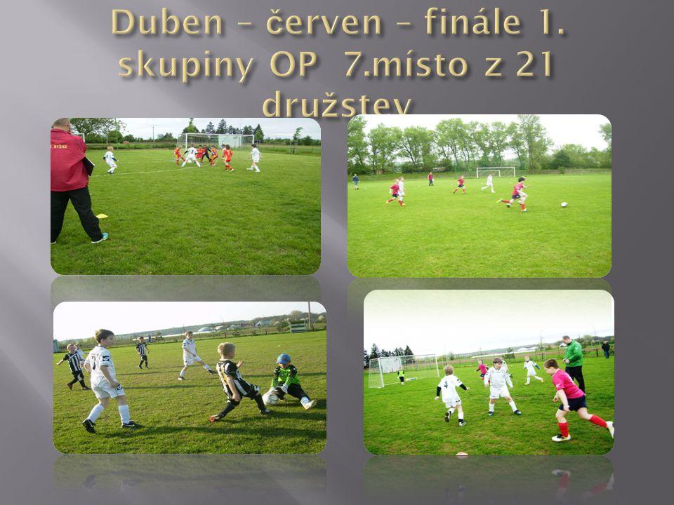 Duben – červen – finále 1. skupiny OP 7.místo z 21 družstev