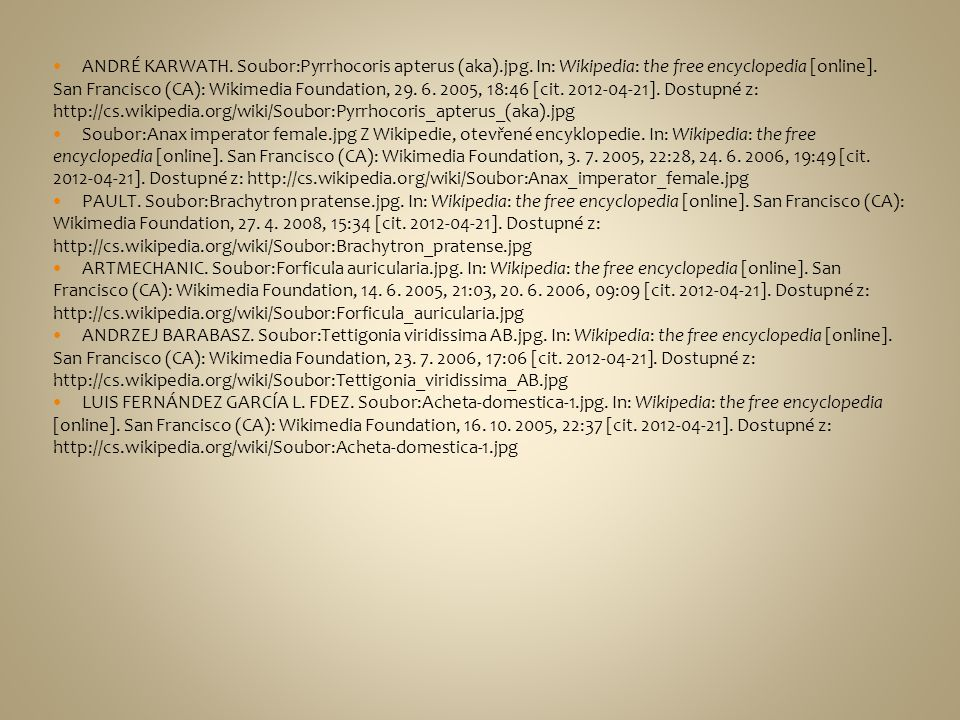 ANDRÉ KARWATH. Soubor:Pyrrhocoris apterus (aka). jpg
