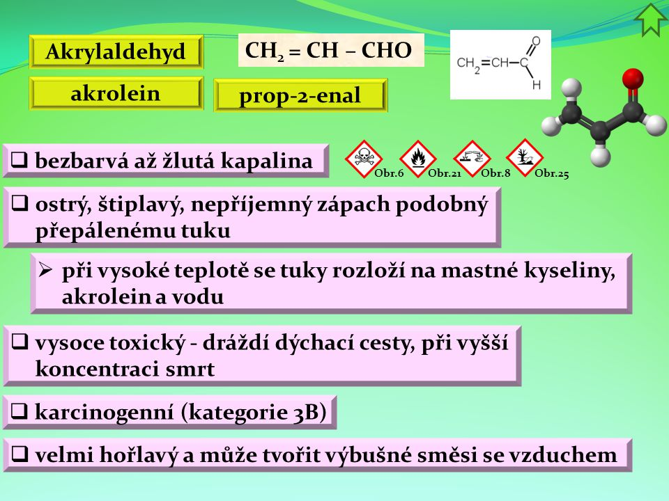 Akrylaldehyd akrolein prop-2-enal