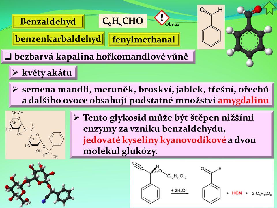 Benzaldehyd C6H5CHO benzenkarbaldehyd fenylmethanal