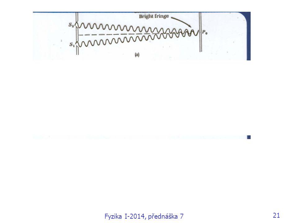 Fyzika I-2014, přednáška 7