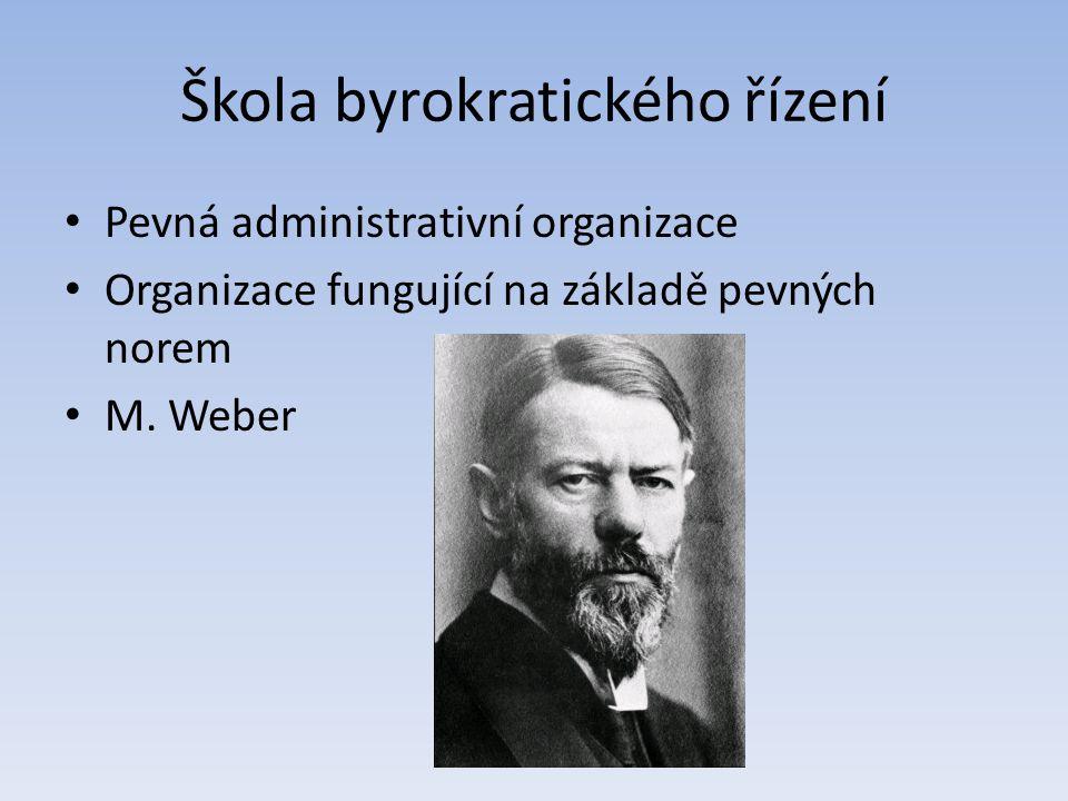 Škola byrokratického řízení