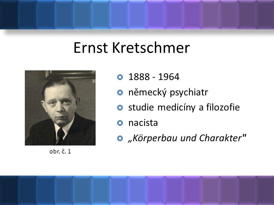Ernst Kretschmer 1888 - 1964 německý psychiatr