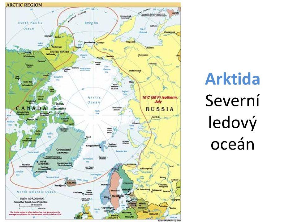 Arktida Severní ledový oceán