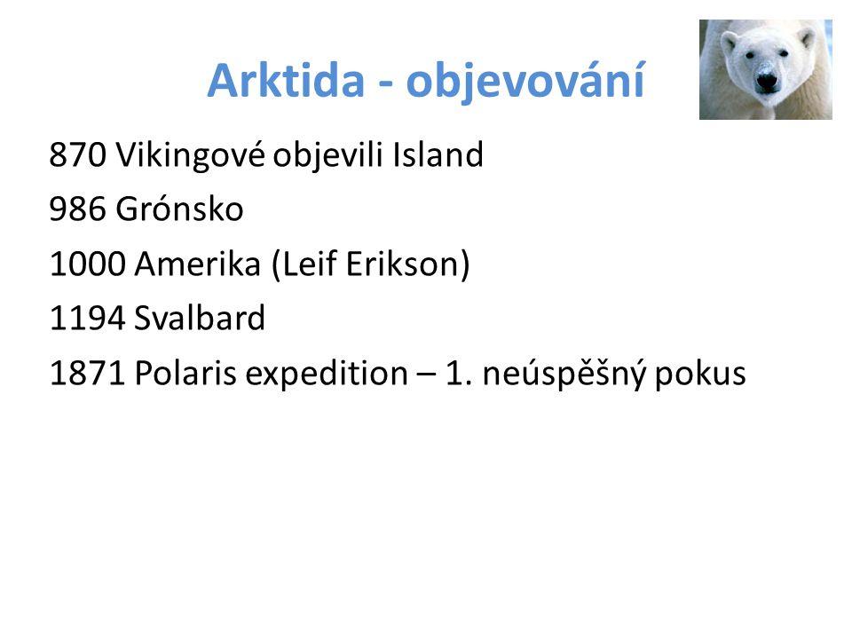 Arktida - objevování