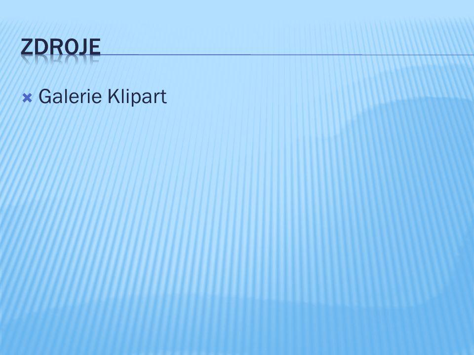 Zdroje Galerie Klipart