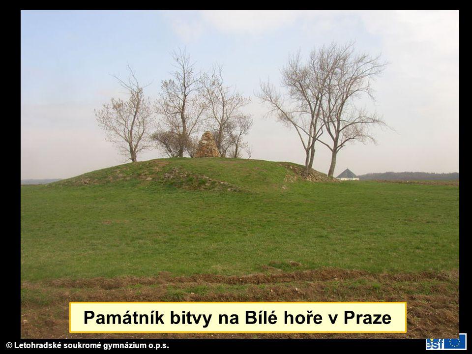 Památník bitvy na Bílé hoře v Praze