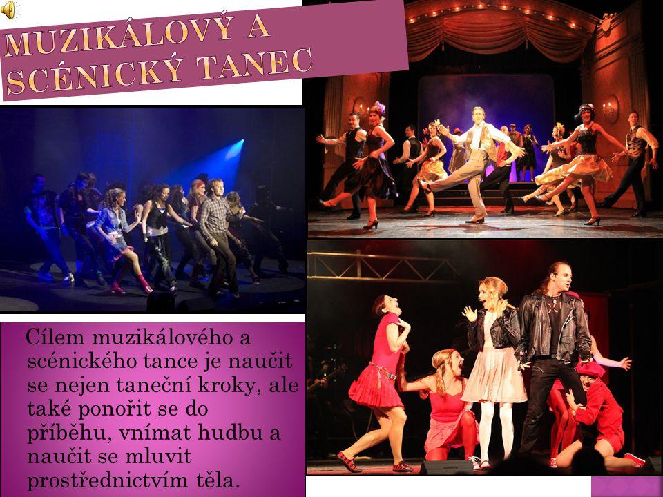 Muzikálový a scénický tanec