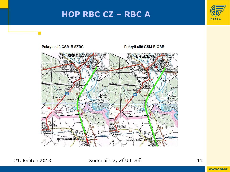 HOP RBC CZ – RBC A 21. květen 2013 Seminář ZZ, ZČU Plzeň