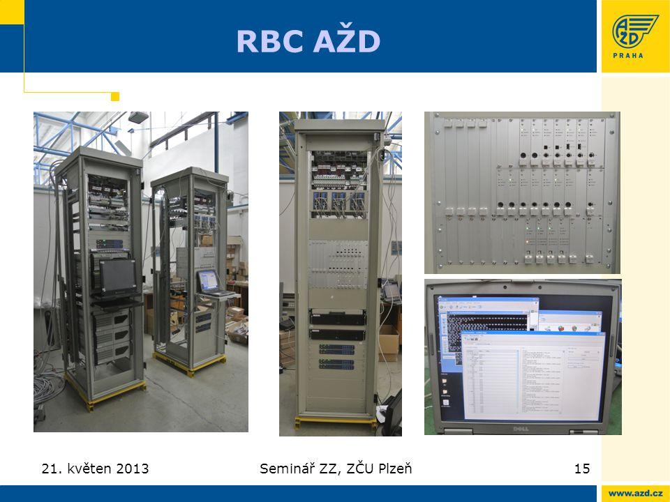 RBC AŽD 21. květen 2013 Seminář ZZ, ZČU Plzeň
