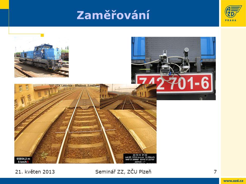 Zaměřování 21. květen 2013 Seminář ZZ, ZČU Plzeň