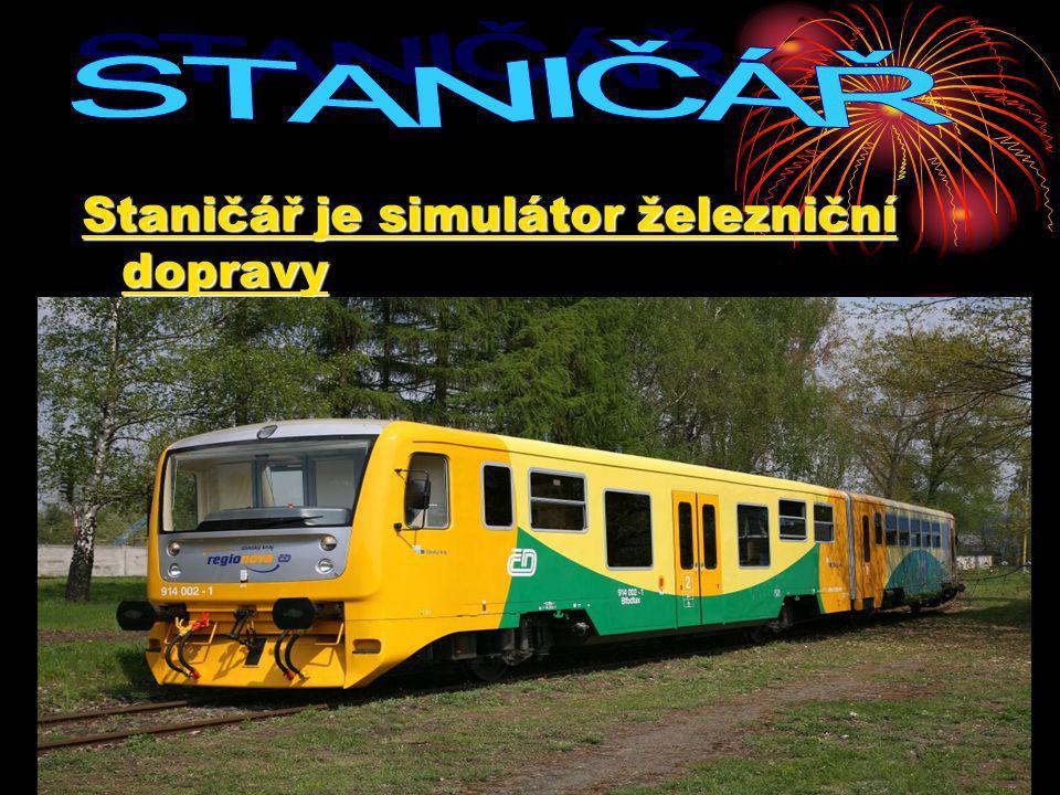 STANIČÁŘ Staničář je simulátor železniční dopravy