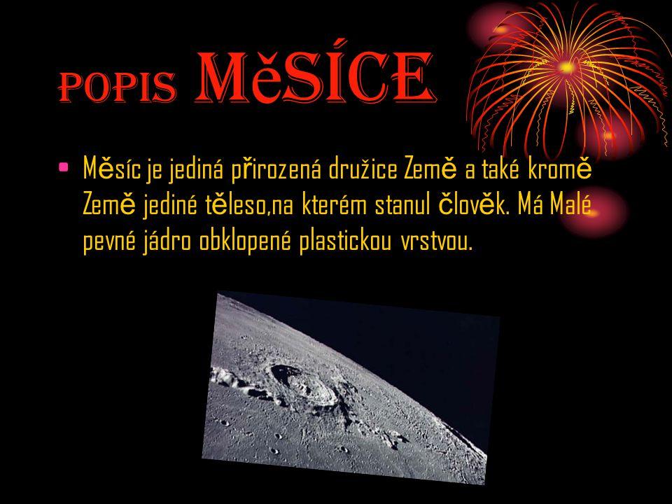 Popis MěsícE