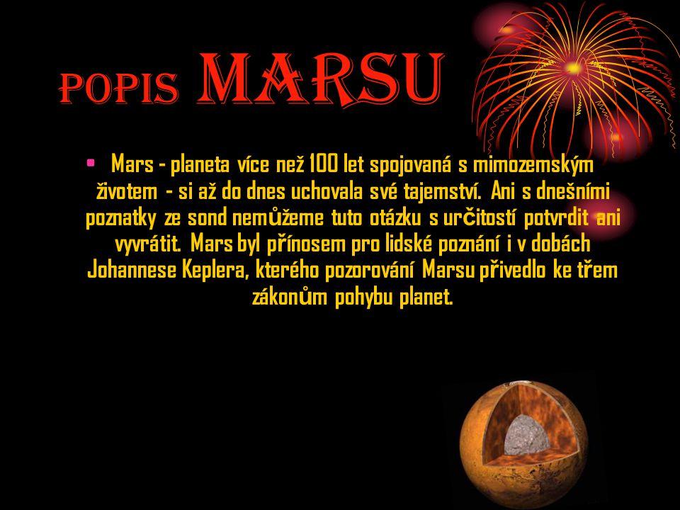 Popis MarsU