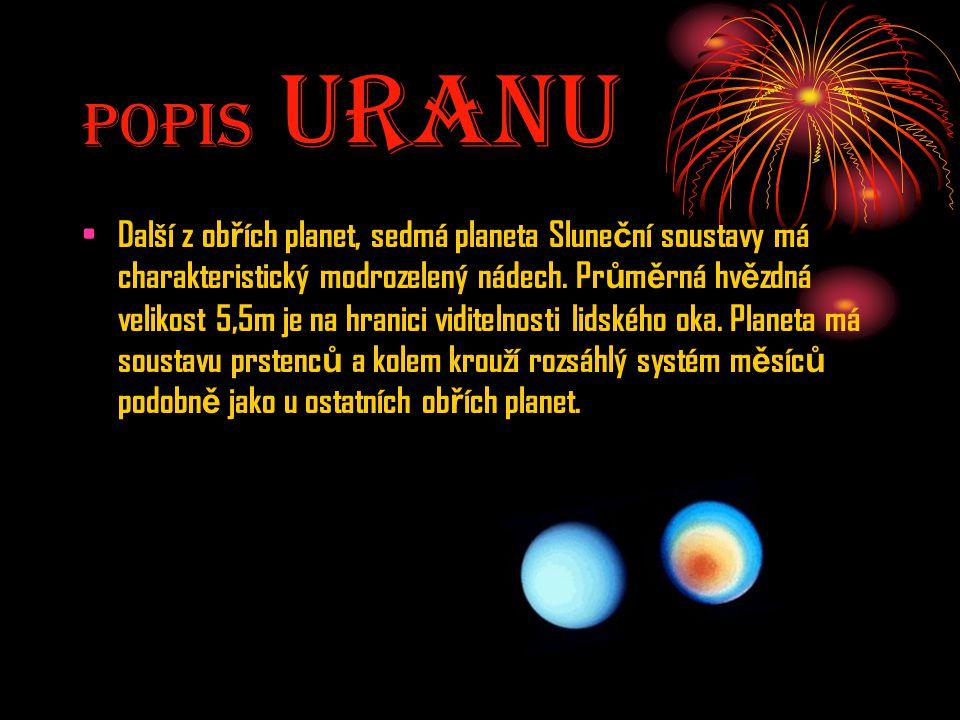Popis UranU