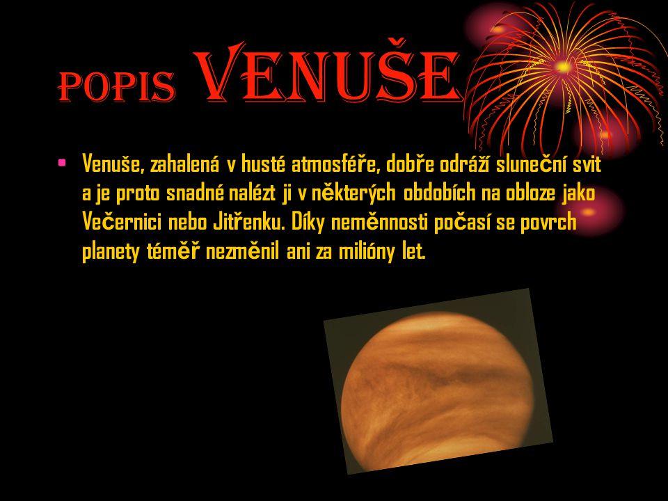 Popis Venuše