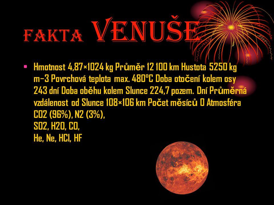 Fakta Venuše