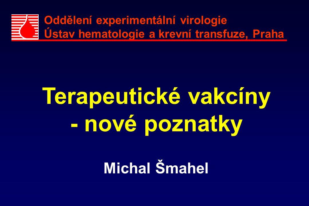 Terapeutické vakcíny - nové poznatky