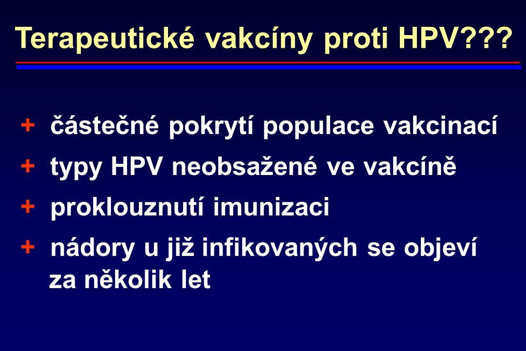 Terapeutické vakcíny proti HPV