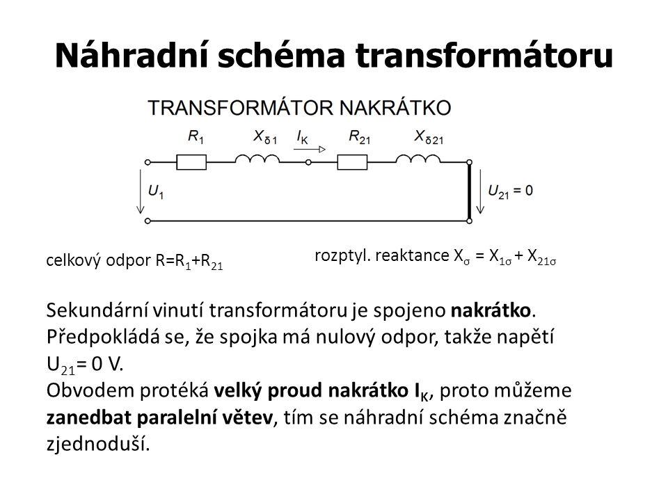 Náhradní schéma transformátoru